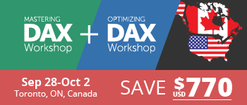 Learn DAX in North America!