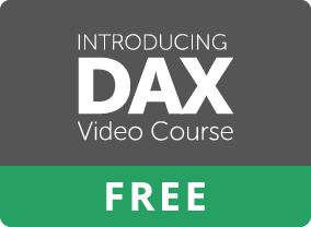 Introducing DAX Video Course