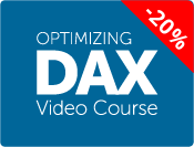 Optimizing DAX Video Course