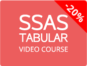 SSAS Tabular Video Course