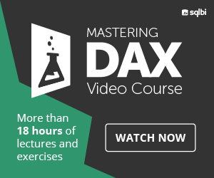 Mastering DAX Video Course