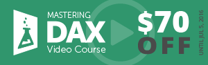 Mastering DAX Video Course - Launch Offer $70 OFF