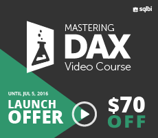 Mastering DAX Video Course - Lanch offer $70 OFF
