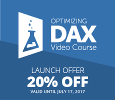 Optimizing DAX Video Course - Launch Offer
