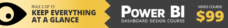 Power BI Dashboard Design Course