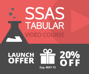 Launch Offer - 20% OFF on SSAS Tabular Video Course