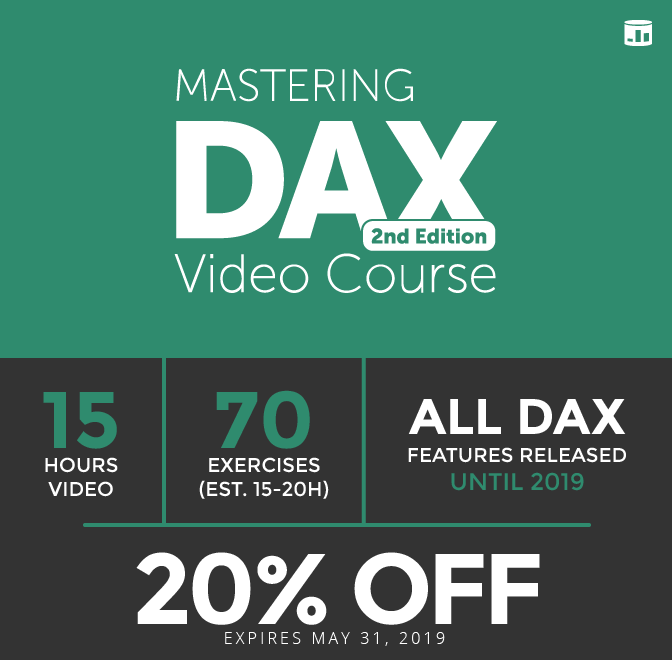 Mastering DAX 2nd edition Video Course