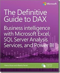 Cover The Definitive Guide to DAX