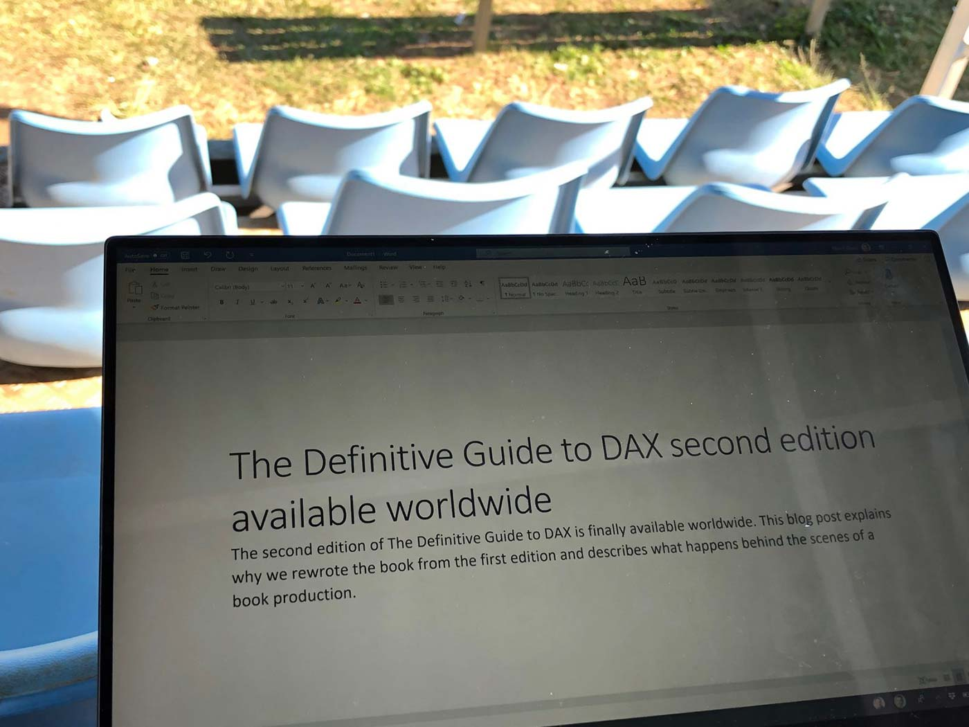 The Definitive Guide to DAX second edition now available