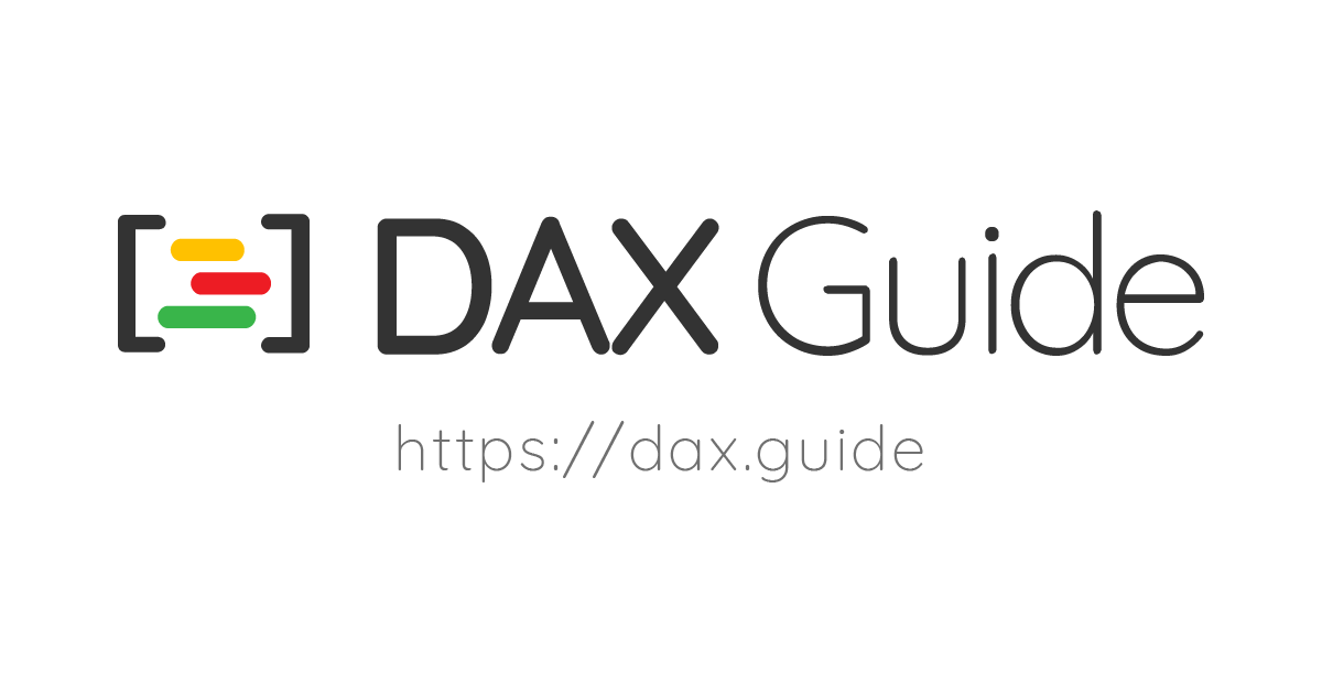 DAX – SQLBI