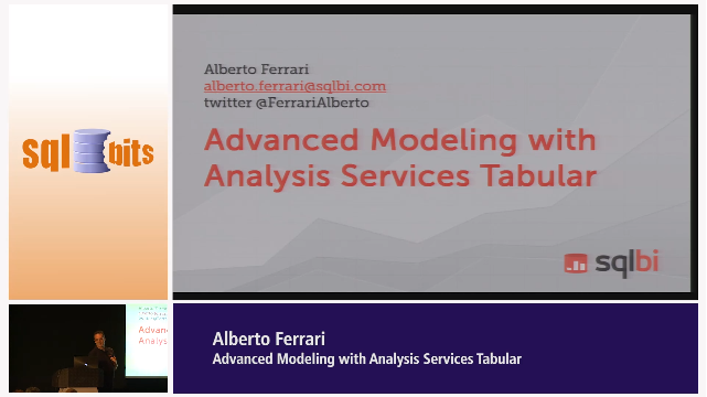 Advanced Modeling with Analysis Services Tabular